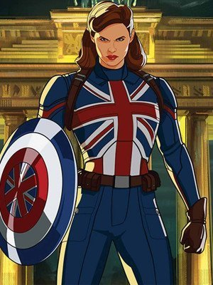 What If Peggy Carter Blue Jacket
