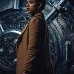 Army of Thieves Nathalie Emmanuel Brown Coat