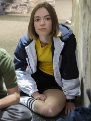 Atypical S04 Casey Gardner Hooded Jacket