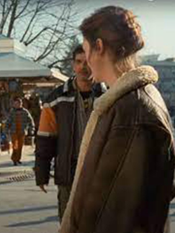 Beckett Lena Brown Leather Jacket