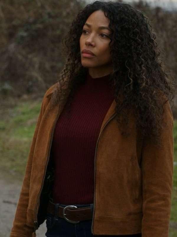 Big Sky Cassie Dewell Brown Jacket