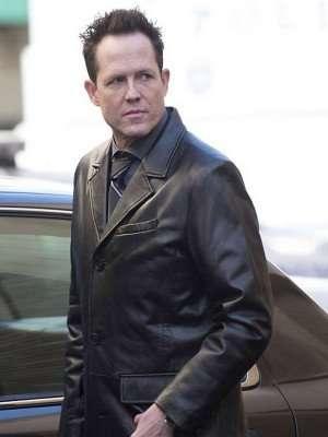 Brooklyn Nine-Nine The Vulture Black Leather Coat