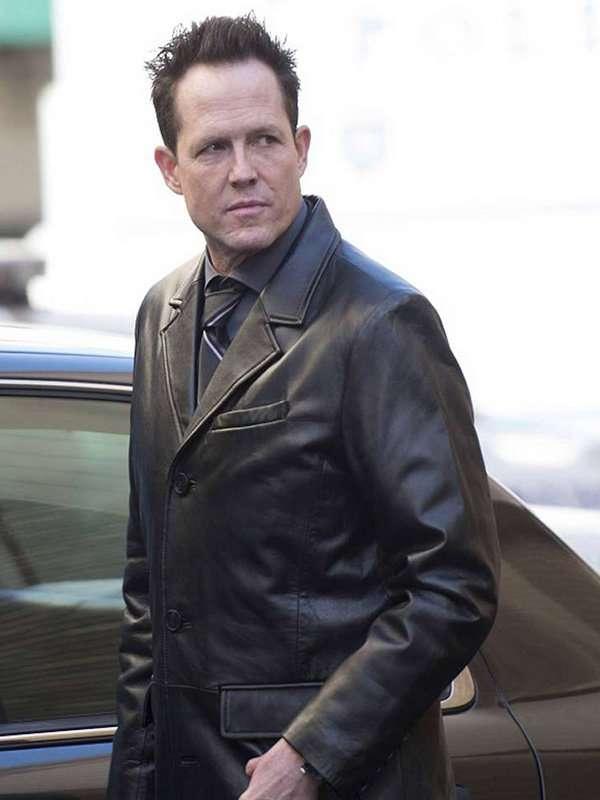 Brooklyn Nine-Nine Dean Winters Leather Coat