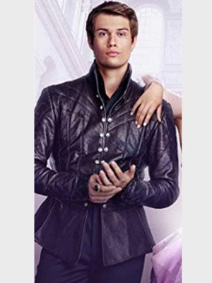 Cinderella Nicholas Galitzine Leather Jacket