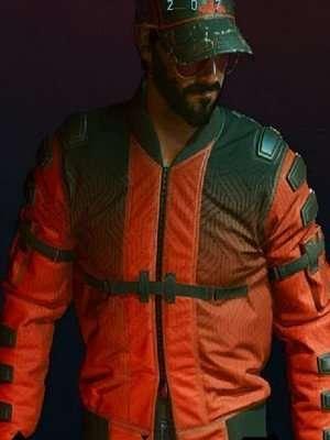 Cyberpunk 2077 Samurai Orange Jacket