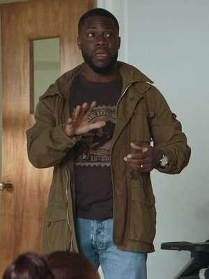 Kevin hart Fatherhood Brown Jacket