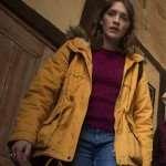 Ghosts Alison Yellow Hooded Jacket