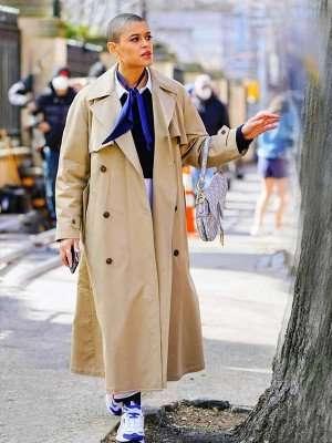 Gossip Girl Jordan Alexander Long Coat