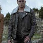 Jaime Lorente Leather Jacket