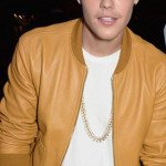 Justin Bieber Brown Leather Jacket