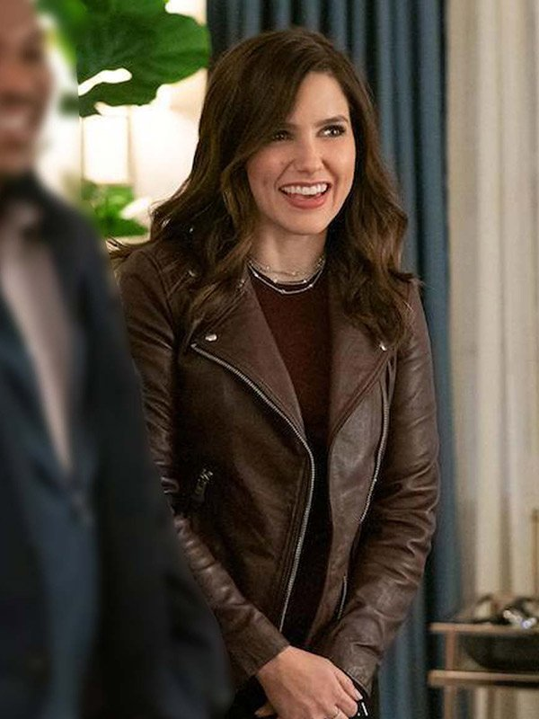 Love, Victor Sophia Bush Leather Jacket