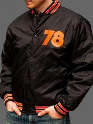 Men's Black Bomber Halloween 78 Jacket