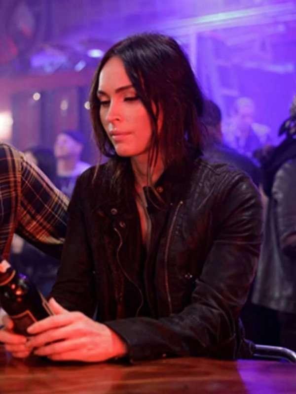 Midnight in the Switchgrass Megan Fox Black Jacket