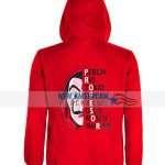 Money Heist Red Hoodie Jacket