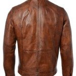 Motorcycle Genuine Leather Jacket