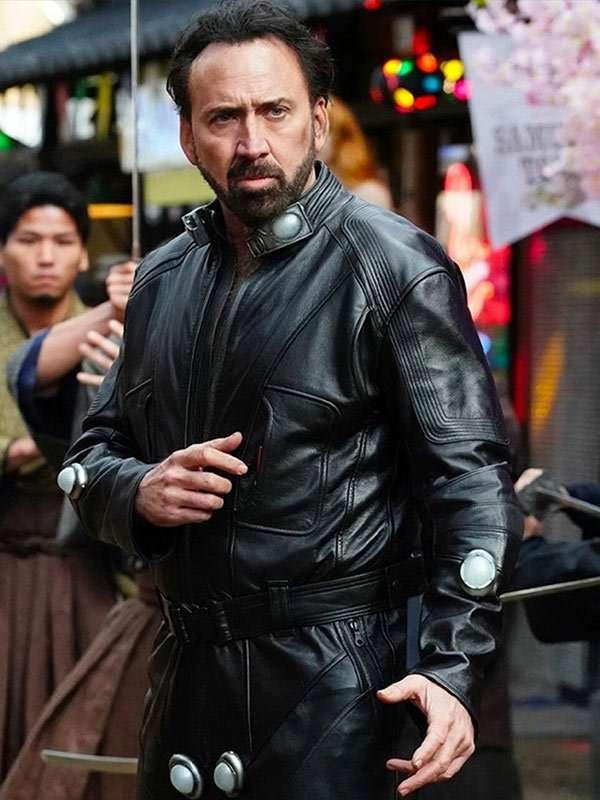 Nicolas Cage Leather Jacket