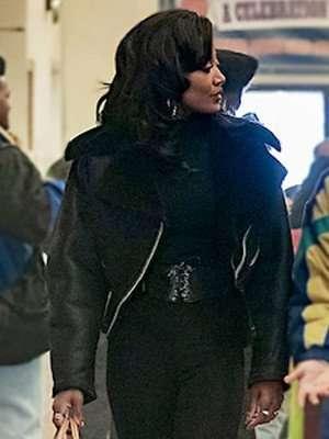Power Book III Patina Miller Black Jacket