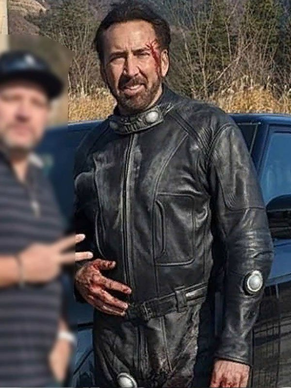 Prisoners of the Ghostland Hero Black Leather Jacket