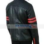 Racer Black Leather Jacket