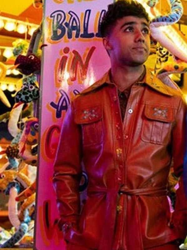 Sex Education S02 Anwar Leather Jacket