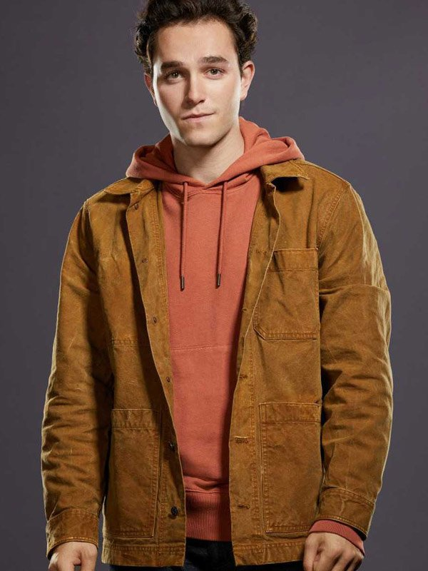 Stargirl S02 Cameron Gellman Brown Jacket