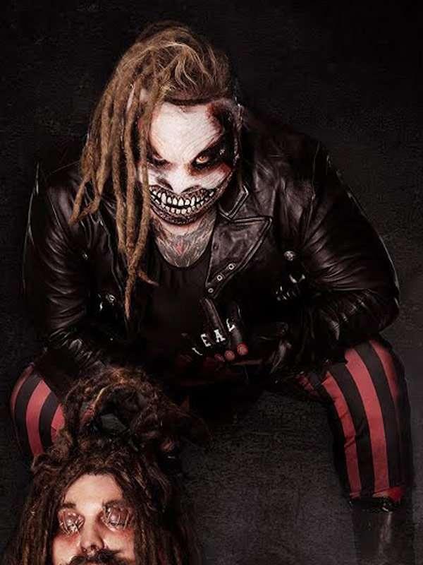 The Fiend Bray Wyatt Black Leather Jacket