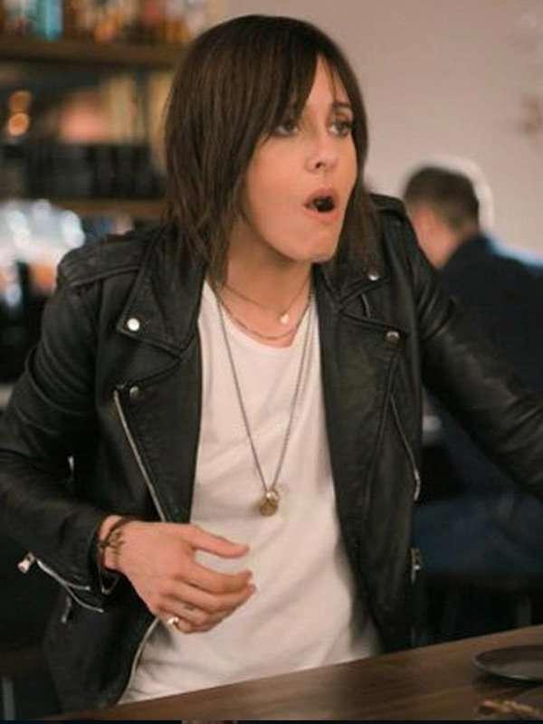 The L Word Generation Q Katherine Moennig Leather Jacket