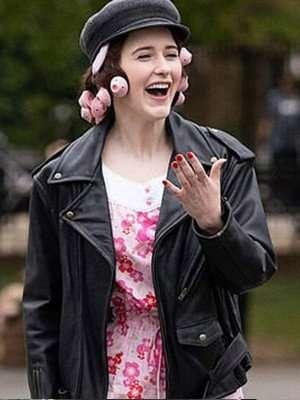 The Marvelous Mrs. Maisel Miriam Maisel Leather Jacket
