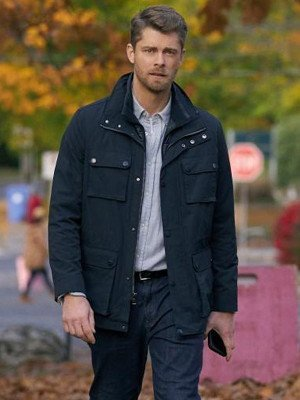 Luke Mitchell Black Jacket