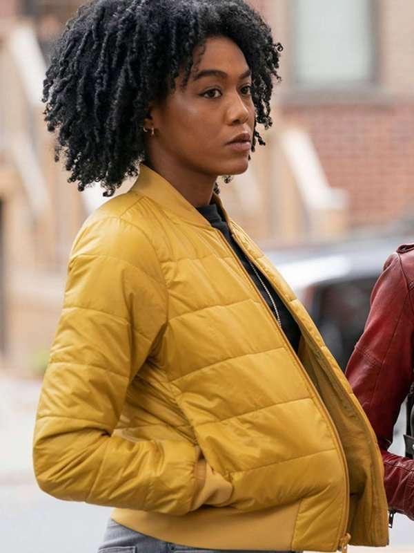 The Republic of Sarah Nia Holloway Yellow Jacket