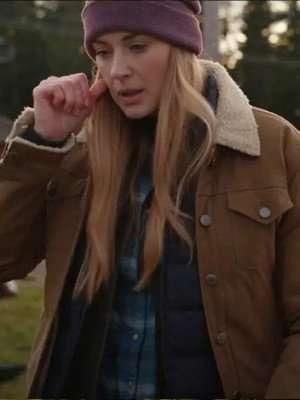 Alexandra Breckenridge Brown Jacket