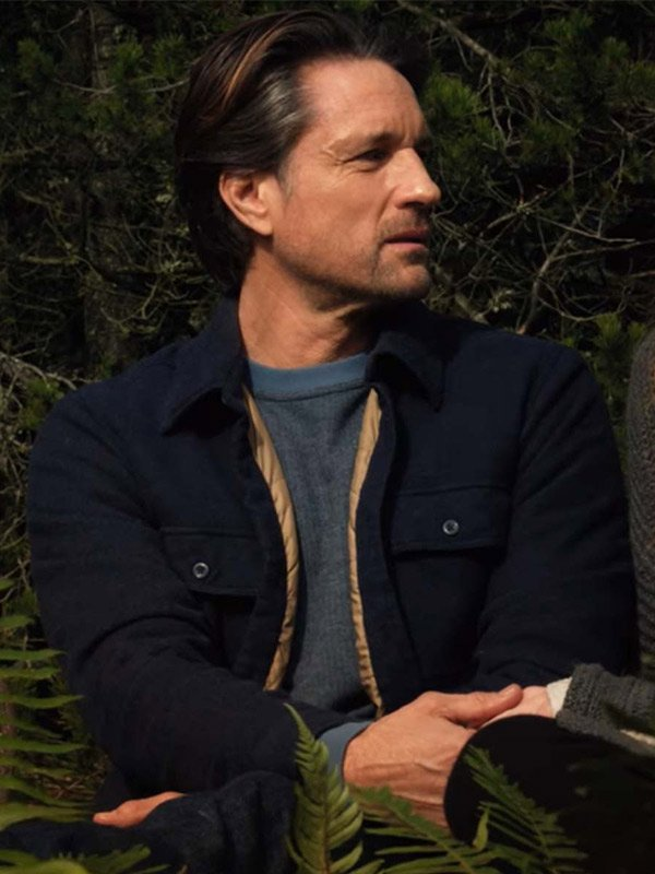 Virgin River S03 Jack Sheridan Black Jacket