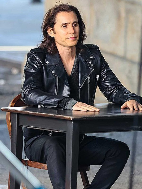 WeCrashed Adam Neumann Leather Jacket