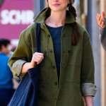 WeCrashed Anne Hathaway Green Jacket
