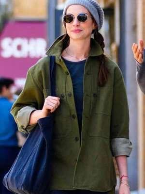 WeCrashed Rebekah Neumann Green Jacket