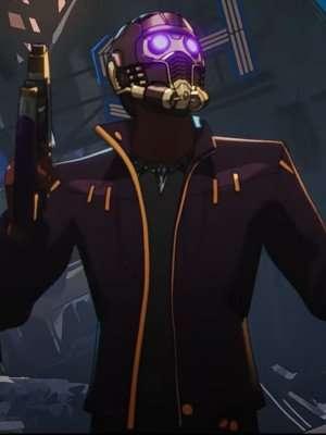 chadwick boseman what if star lord Purple Jacket