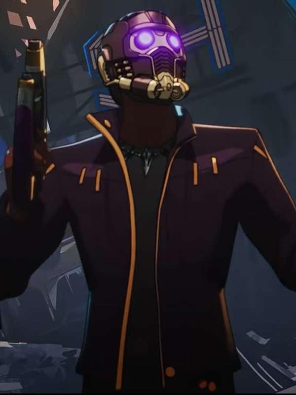 anime series what if chadwick boseman star lord Jacket