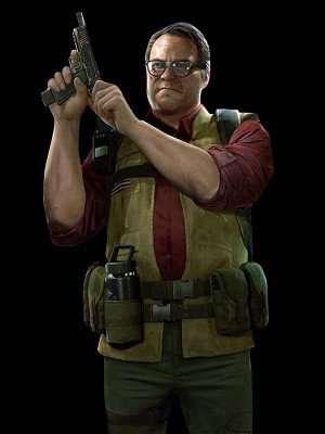 Back 4 Blood Hoffman Green Cargo Vest