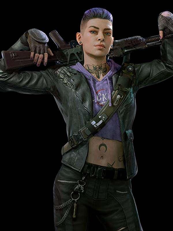 Back 4 Blood Karlee Leather Jacket