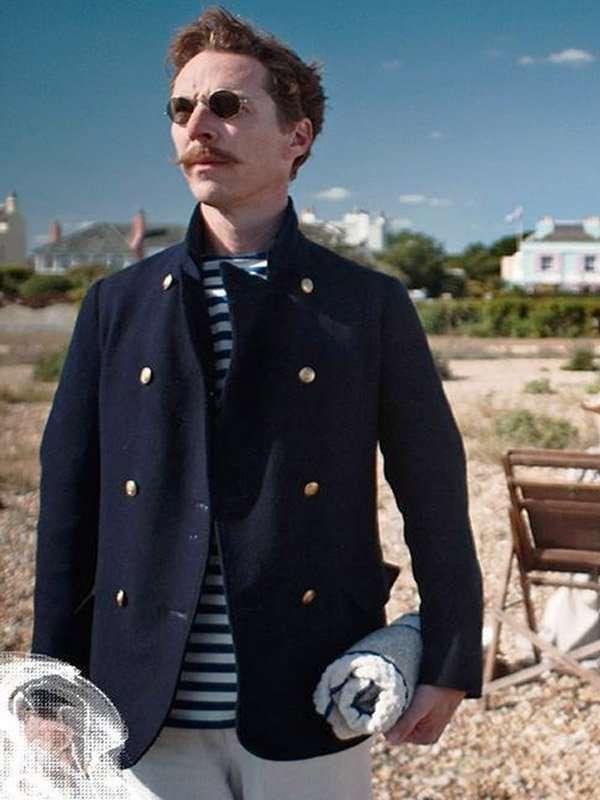 Benedict Cumberbatch The Electrical Life Of Louis Wain Blue Blazer