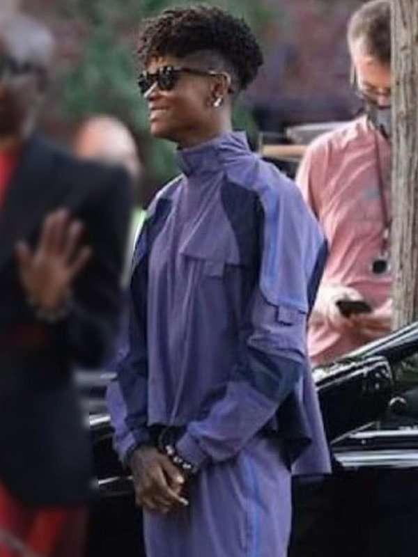 Black Panther Wakanda Forever Letitia Wright Jacket