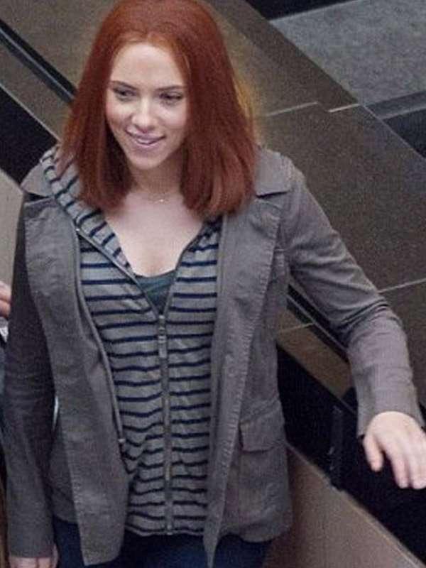 Captain America The Winter Soldier Scarlett Johansson Jacket
