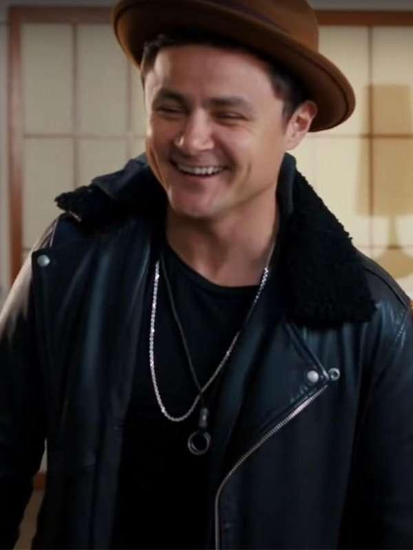 Dating & New York Arturo Castro Black Shearling Leather Jacket