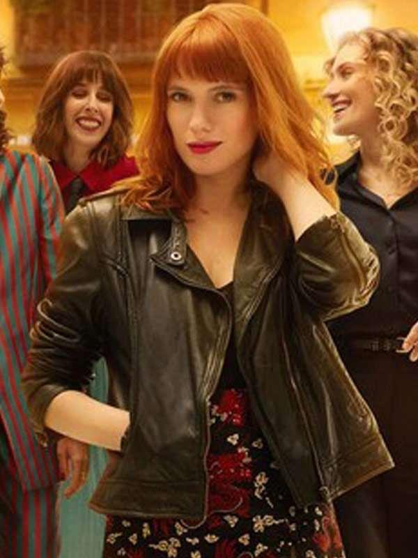 Diana Gómez Valeria S02 Black Leather Jacket