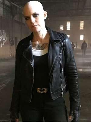 Doom Patrol S02 Stephanie Czajkowski Black Leather Jacket