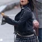 Doom Patrol Season 01 Crazy Jane Black Studded Leather Jacket