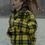 Emily In Paris TV Series Emily Coopers Yellow Plaid Jacket