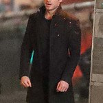 Eternals Richard Madden Black Wool Coat