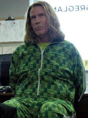 Eurovision Song Contest Will Ferrell Green Tracksuit