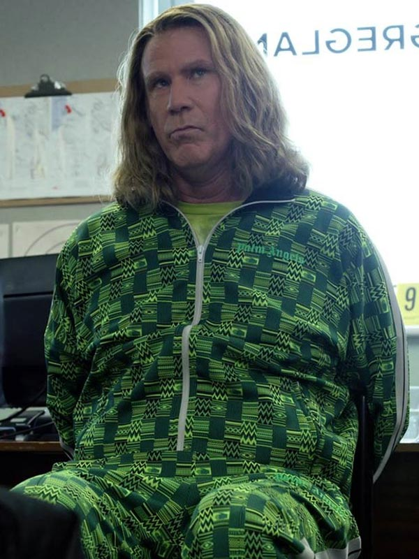 Eurovision Song Contest Lars Erickssong Green Tracksuit